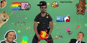 Shia Labeouf - JUST DO IT MLG! by EdgarIamEdgar