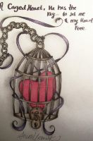 Caged Heart by GrotesqueDarling13