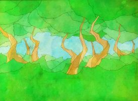 The Swaying Forest by MadSketcher