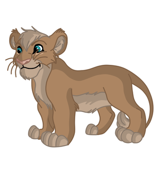 Kilani lion stage 2 toddler by phoenixfairy555