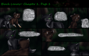 After The Last Hope: Black Leaves, Page 1 by Amerikat