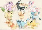Eeeveelutions by GreyRadian