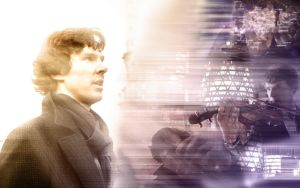 Sherlock (BBC) Wallpaper - Here comes the Sun! by SeaCat2401