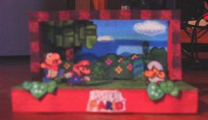 Literally Paper Mario by Christinabean