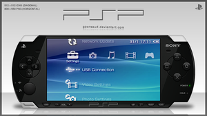 Sony PSP Icon by gpersaud