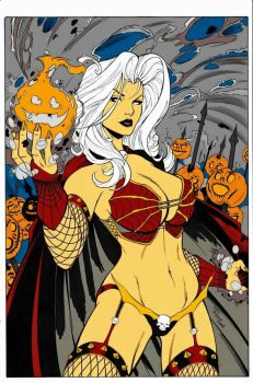 LADY DEATH HALLOWEEN by lostlove31
