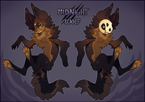 {The Bell Tolls} Midnight Wolf [closed] by burrdog