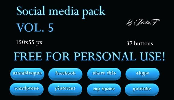 Social Media Pack VOL.5 by IvetaT