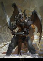 (Ban) Orcus, Necrodemon by RuanJia