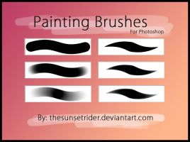Painting Brushes by TheSunsetrider
