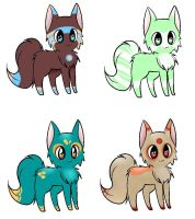 Cat Adoptables! -- [CLOSED] by HComet