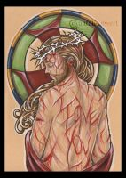 Jesus is Love by natamon
