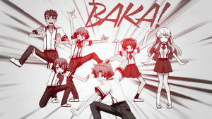 The Baka Wallpaper by ShoujoChrome