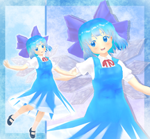 Montecore *styled* Young Cirno (thing) by CakeyKins