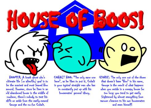 The Cast Of 'House Of Boos' by Redhead64