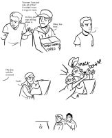 Marble Hornets: Smack Down by DeathByBacon