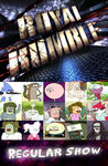 Regular Show 15 Characters Royal Rumble by BeeWinter55