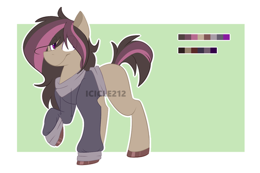 Twilight Sparkle x Troubleshoes adopt [CLOSED] by Icicle212