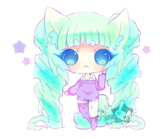 Adopt Dreamy Jelly Cat [CLOSED] by Rezo-Bunny-Adopt