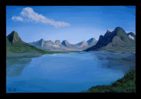 Speed painting - lake by IRCSS