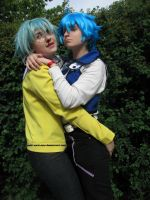 Syrus and Jesse Cosplay by yuki-sora-vao