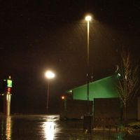 Rainy Night Parkinglot by FantasyStock