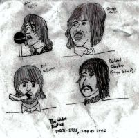 The Golden Beatles by heathinvader