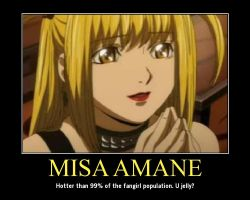 Misa Amane Motivational by RisenWarrior