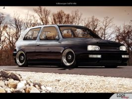 vw golf III VR6 by Lopi-42