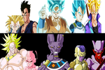 Dragonball Z The fated Battle by PikachuStar93