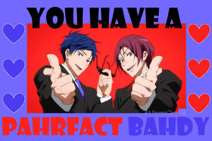 Free! Valentine: Pahrfact Bahdy by FrozenClaws
