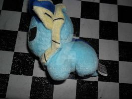 134 Vaporeon plush by xmorris33
