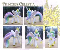 My Little Pony Princess Celestia Custom by kaizerin