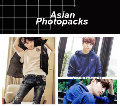 Photopack 1438 // L (INFINITE). by xAsianPhotopacks