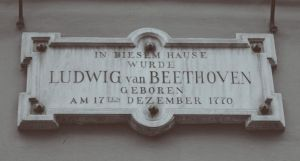 Beethoven house sign by MaithaNeyadi