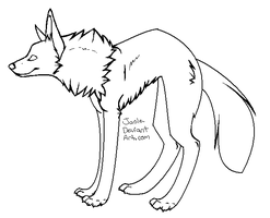 Wolf Makeable -Free Use- by Jaole