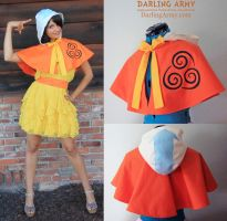 Airbender Avatar Cosplay Capelet by DarlingArmy