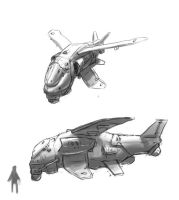 bomber concept by Dmitrys
