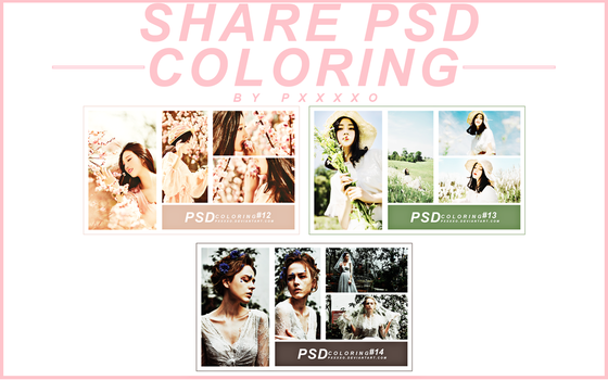 //SHARE PSD COLORING// by pxxxxo