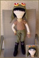 Noodle Plush by Patchwork-Shark