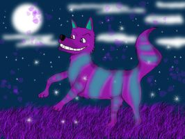 Cheshire wolf by Humpty--Dumpty
