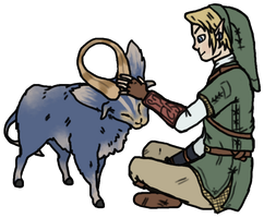 Goat, and also Link by pSarahdactyls