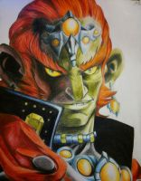 Ganondorf Color Sketch by ThePrestigiousZelda