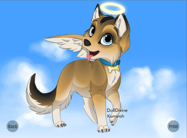 Castiel's Dog by perry321