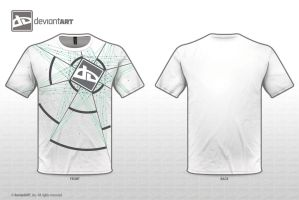 T-Shirt Design White by BevzXis10
