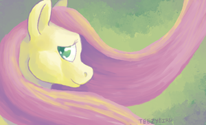 Fluttershy: Kindness by TeezyBird