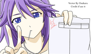 Mizore Exam - Vector by Ossukaru