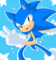 Sonic by Tataina8
