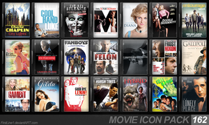 Movie Icon Pack 162 by FirstLine1