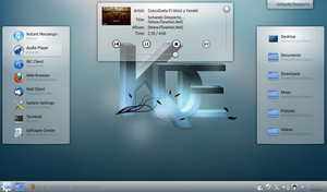 Mint 12 kde Daydreaming by Draco23hack